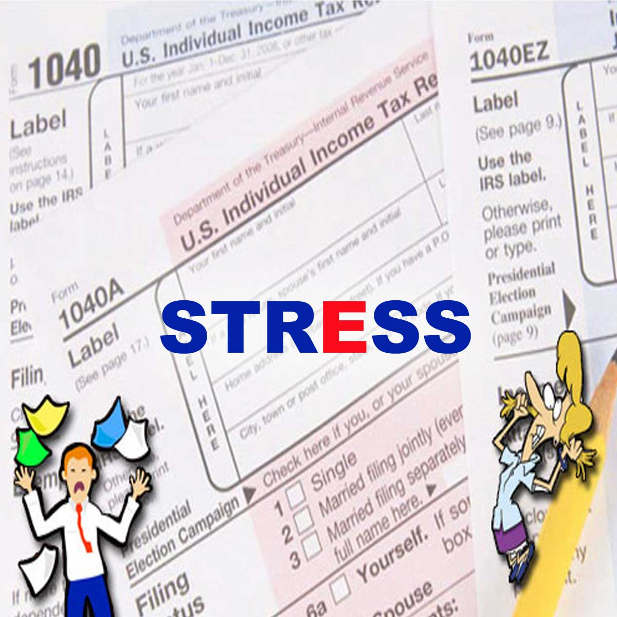Top 10 Ways To Deal With Tax Season Stress